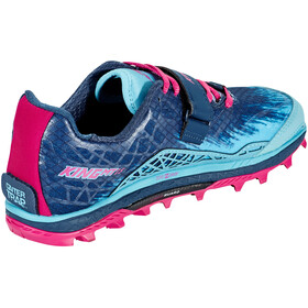 Altra King MT 1.5 Trail Running Shoes Women Blue/Raspberry